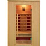 Cabine infrarouge de pièce de sauna pour 2 personnes