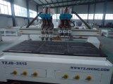 Op zwaar werk berekende CNC van de Scherpe Machine Router voor MDF Solidwood de Steen van het Schuim van het Aluminium