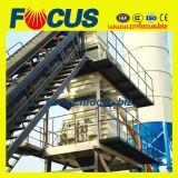 Hzs60 60cbm / H Wet Mix Stationary Planta mezcladora de concreto con Belt Conveyor