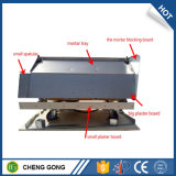 Grande capacité chaude plâtrant la machine de rendu de mur pour la construction de bâtiments