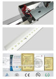 Vidro Et74-1 com luz de Lightceiling do pendente do diodo emissor de luz do revestimento do cromo