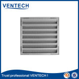 Aluninum Weather Air Louver para sistema HVAC
