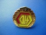 Distintivo placcato oro del metallo, Pin del risvolto dello smalto (GZHY-CY-029)