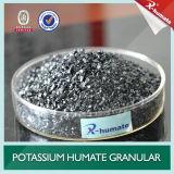 Glanzende Vlok of het Poeder van Humate van het Kalium van 95% de Oplosbare Super