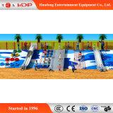 Lustige Funktion im Freien kleines Garten Art-Kind-Park-Spielplatz-Plättchen (HD-MZ017)