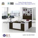 Scrivania esecutiva di colore bianco turco in forniture di ufficio (D1607#)