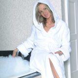 Peignoir de bain pour les hôtels et 100%Robe en velours de coton