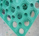 De kleurrijke AntislipRubberMat van het Sloependek/de OpenluchtMat van de Vloer van de Speelplaats Rubber