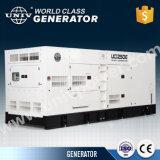 280квт/350ква двигатель Denyo дизайн бесшумный дизельный генератор