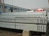En10219 Médios Quente Gi Tubo retangular galvanizado tubo/2000mm de diâmetro do tubo de aço
