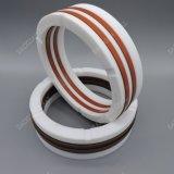 NBR PU V-Embalagem V de borracha do anel de vedação de haste
