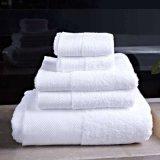 Échantillon gratuit disponible Balfour Serviette de toilette de coton 100% coton Hôtel Terry Serviette de bain (JRD370)