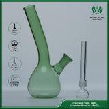 Rauchende Gefäß-grüne Glasfarbe 7 Zoll Australien-Wasser-Rohr-Glas-Rohr-