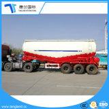 대량 시멘트 분말 구체적인 수송 탱크 트레일러를 반 드는 3개의 차축