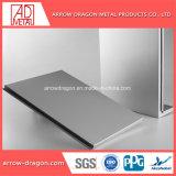 Revestimento a pó insonorizada Atérmico alumínio alveolado painéis para o gabinete da máquina/ superfície de Usinagem
