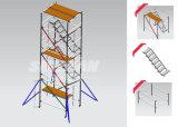 ألومنيوم إطار برج بناء سقالة