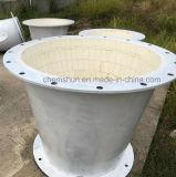 Il tubo rivestito di ceramica dell'ossido di alluminio Elbows il rifornimento del fornitore