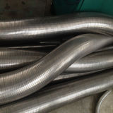 Tubo di scarico flessibile dell'acciaio inossidabile