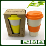 Hot vender ecológicas biodegradables 400ml taza de café