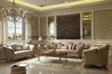 E66 классической импорта ткани диван цельной древесины с правой резного живопись