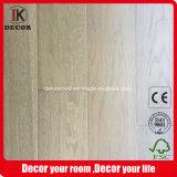 Pavimentazione di legno spazzolata lavata bianca naturale della quercia russa