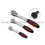 Insieme aperto della chiave a cricchetto dell'acciaio inossidabile della maniglia del PVC della tubazione flessibile di alta qualità 1/2