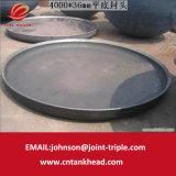 02-09 testa piana del acciaio al carbonio della lager per il contenitore a pressione 5000mm*20mm