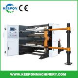 Vitesse élevée de refendage de film plastique papier recto verso rembobinage de la machine (HQR-1300)