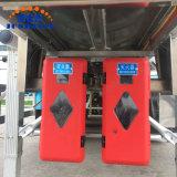 3 기름을%s 반 차축 45000liter 연료 유조선 트레일러 또는 디젤 또는 조잡한 수송