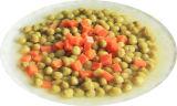 Conservas de produtos hortícolas misturar produtos hortícolas (ervilha verde+Cenoura)