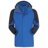 Masculina clássico tem proteção contra calor Casaco Windbreaker Bolsa impermeável Mauntaineering Jackts