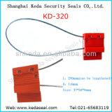 1.6mmワイヤー容器ケーブルのシールのトラックの機密保護のシール(KD-320)