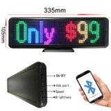 Полноцветный светодиодный знак P4.75-16X64RGB LED приложений для мобильного телефона Bluetooth Desktop светодиодный дисплей светодиодный индикатор