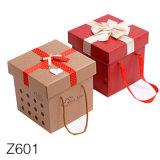 Z601 de gros de coffrets cadeaux de luxe avec couvercle magnétique fournisseur