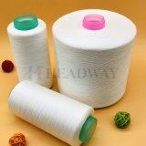 Meilleur Prix de matières de qualité Super Blanc 100 % polyester fabrication 40S/2 B2B