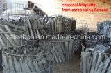 Machine de charbon de bois à sciure bois approuvée CE & ISO