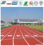 Qualitäts-Verbundlaufende Gummispur, athletischer Laufring, Laufbahn