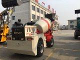 Misturador concreto portátil do balanço traseiro com direção de 2 rodas