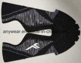 Het jacquard Geweven Bovenleer van Flyknit van de Stof voor de Schoenen van Mannen en van Vrouwen