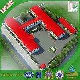 Bâtiment scolaire préfabriqué d'Assemblée économique et facile (KHK1-012)