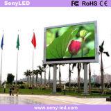 Im Freien Zeichen-Vorstand der Videodarstellung-LED LED