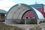 Almacén de bastidor de acero, resistente al agua Almacén, gran capacidad de almacenamiento