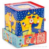 Contenitore bello personalizzato di stagno del fumetto della peluche di Jack In The Box