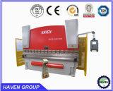 Máquina de dobra hidráulica da placa de aço do dobrador da folha de metal da alta qualidade