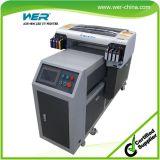 395 Nm LED UV 빛을%s 가진 고해상 A2 UV 평상형 트레일러 인쇄 기계