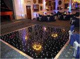 2*2FT White and Black Acrylic LED Star Dance Floor for Nightclub