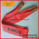 Imbracatura 8m X 5t della tessitura del poliestere di En1492-1 5t (personalizzati)