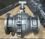 Llena la cavidad JIS 10K de la válvula de bola flotante de hierro fundido