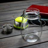 Het hete het Kamperen van de Verkoop OpenluchtTheekopje van het Glas van de Kop Draagbare met de Kop van het Water van de Sport Infuser