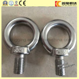 Chine Heavy Duty M24 en acier inoxydable poli forgé 316 Eyebolt